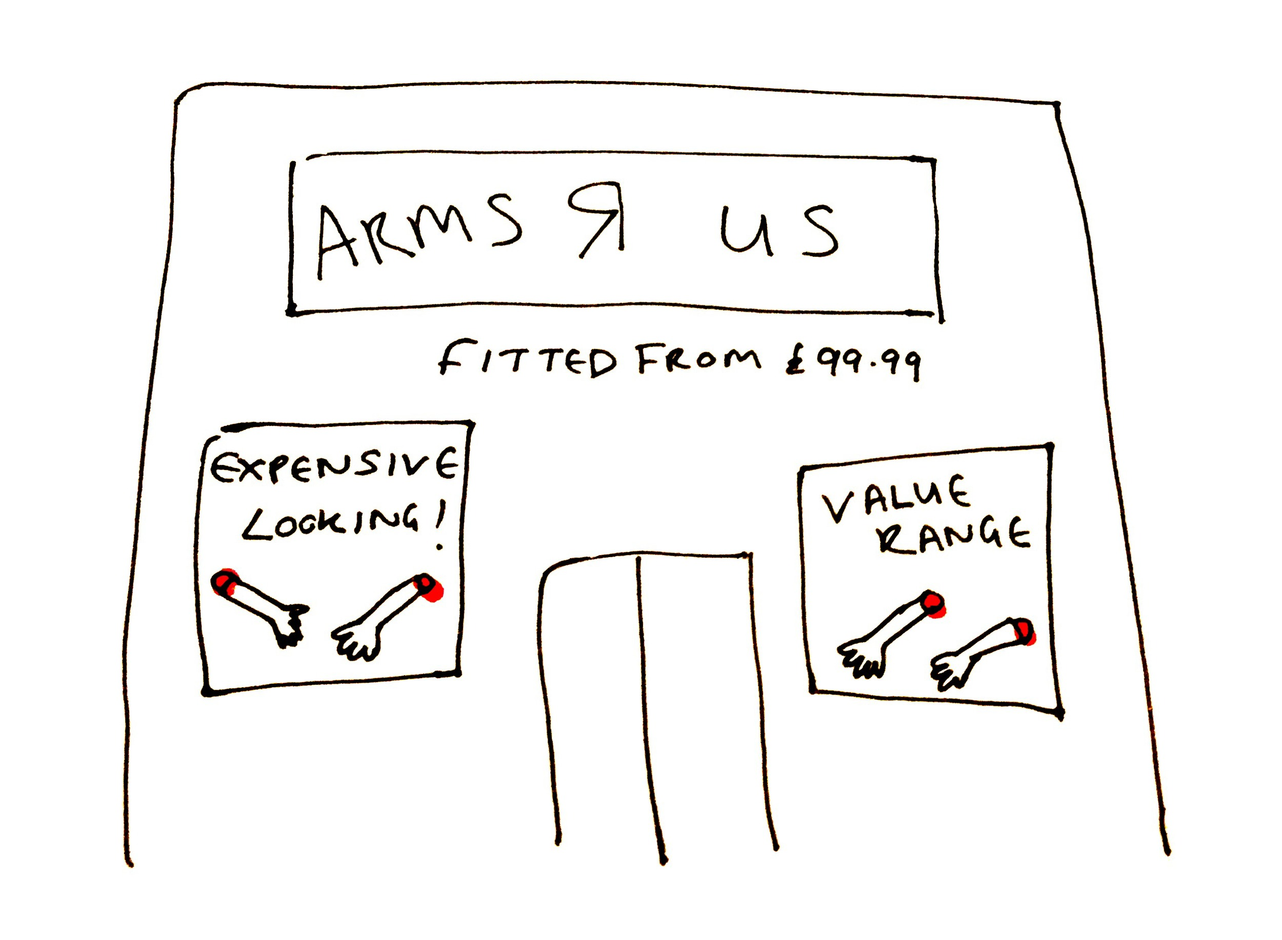 Expensive Looking Arms