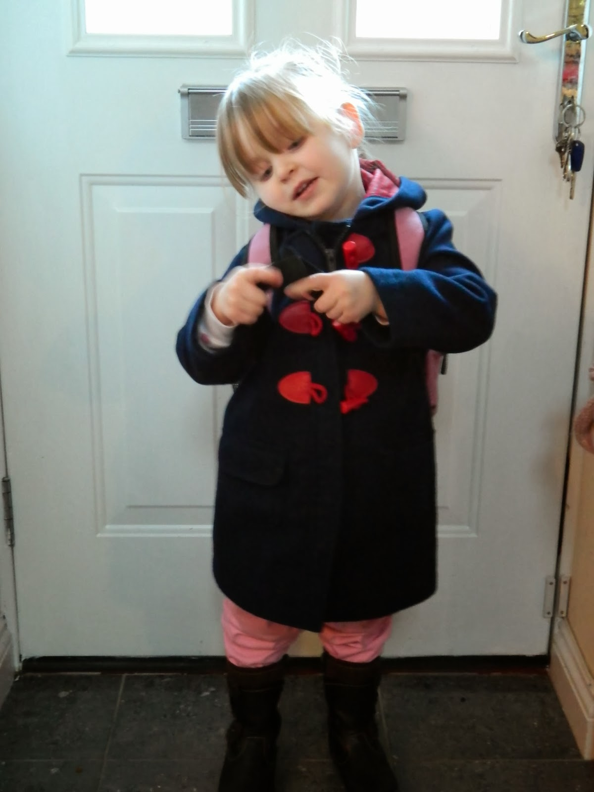1st Day at Nursery