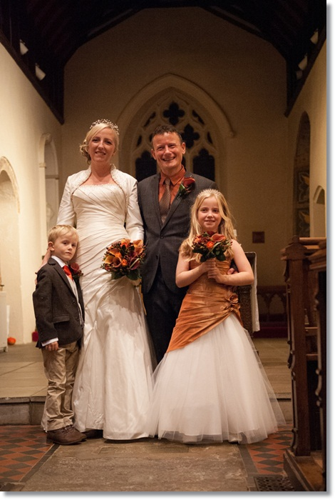 Wedding photos – our beautiful family