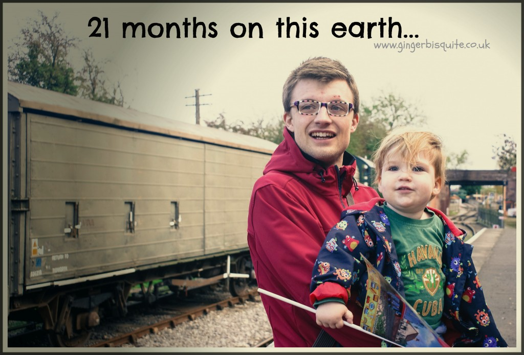 21 months on this earth.