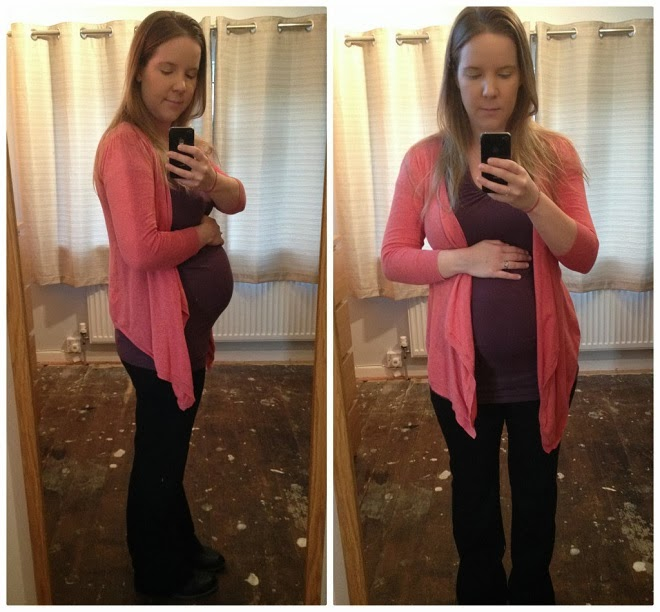 What I am wearing @ 28 weeks