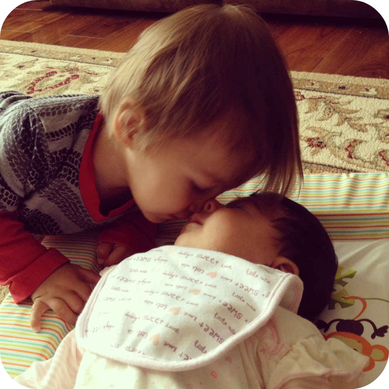 The beauty of kisses