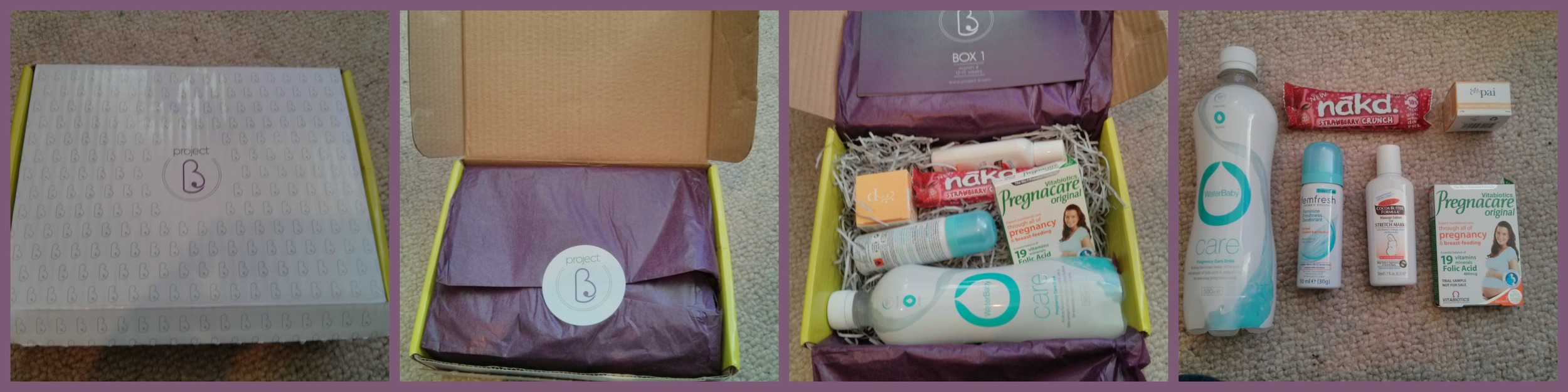 Project B - Pregnancy Wellbeing Boxes Review