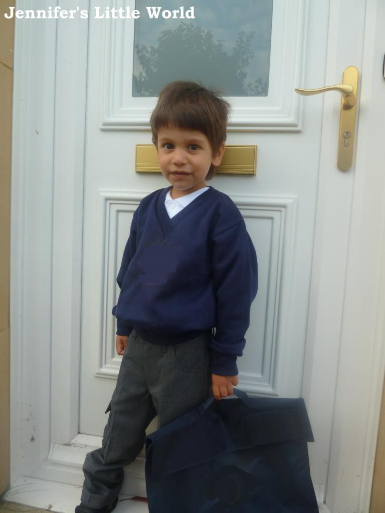 Harry starts school