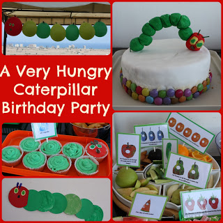 A 'Very Hungry Caterpillar' Party
