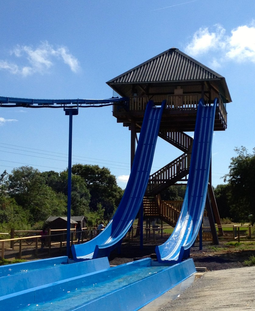 Knockhatch Adventure Park review - share your family days out.