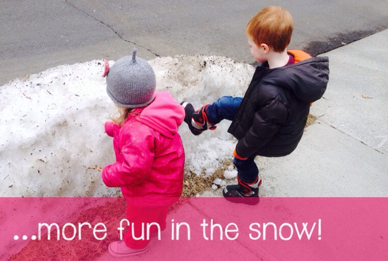 mumturnedmom: #CountryKids – more fun in the snow…
