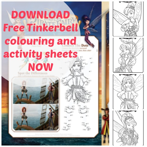 Celebrate Tinkerbell film with pictures!