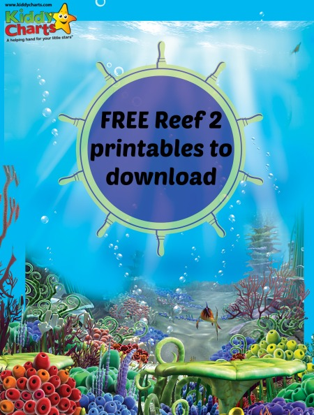 Reef 2 Printables for your kids to enjoy
