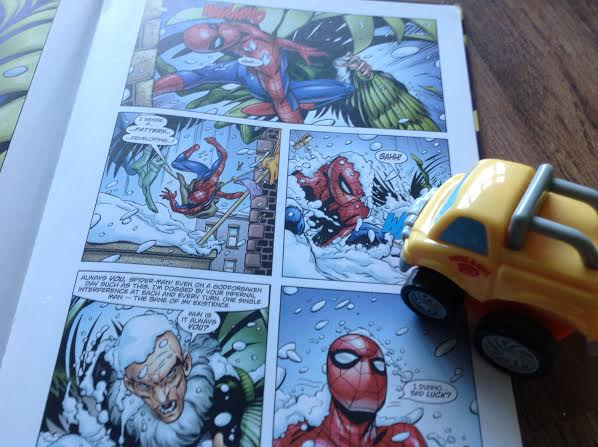 Christmas books for kids: Spiderman Annual 2004