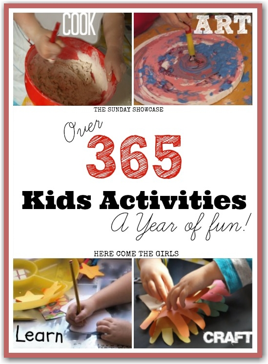 365 Fun Activities for Kids - Here Come the Girls