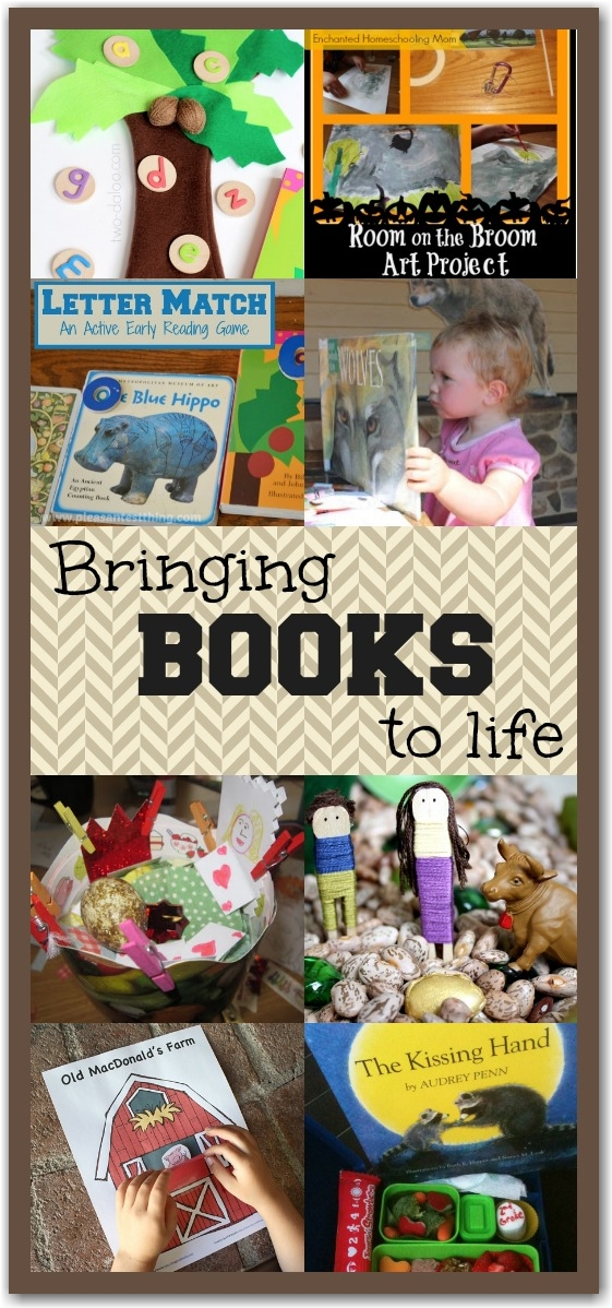 10 Activities to Bring Books To Life - Here Come the Girls