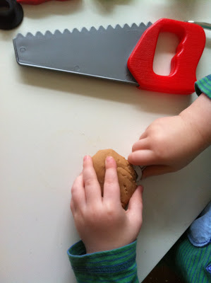 Fixing the Play Dough - An invitation to play