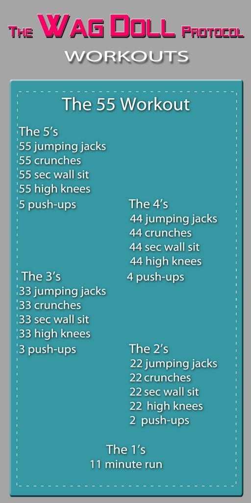 The Wag Doll Protocol - The 55 Workout!