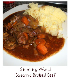 Slimming World Balsalmic Beef Casserole