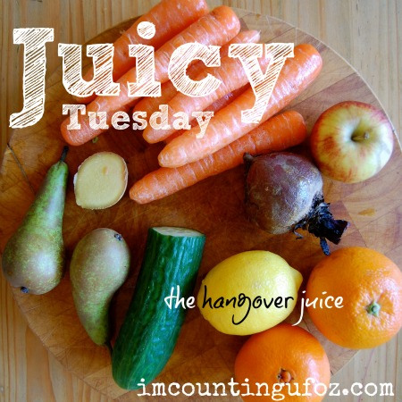 Juicy Tuesday: The Hangover Juice. I'm Counting UFOs