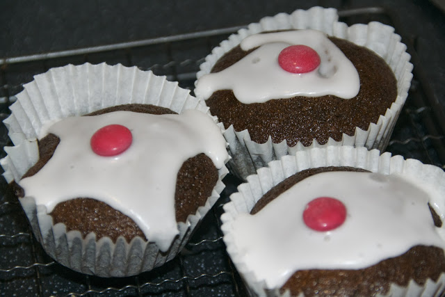 Christmas pudding ginger cakes
