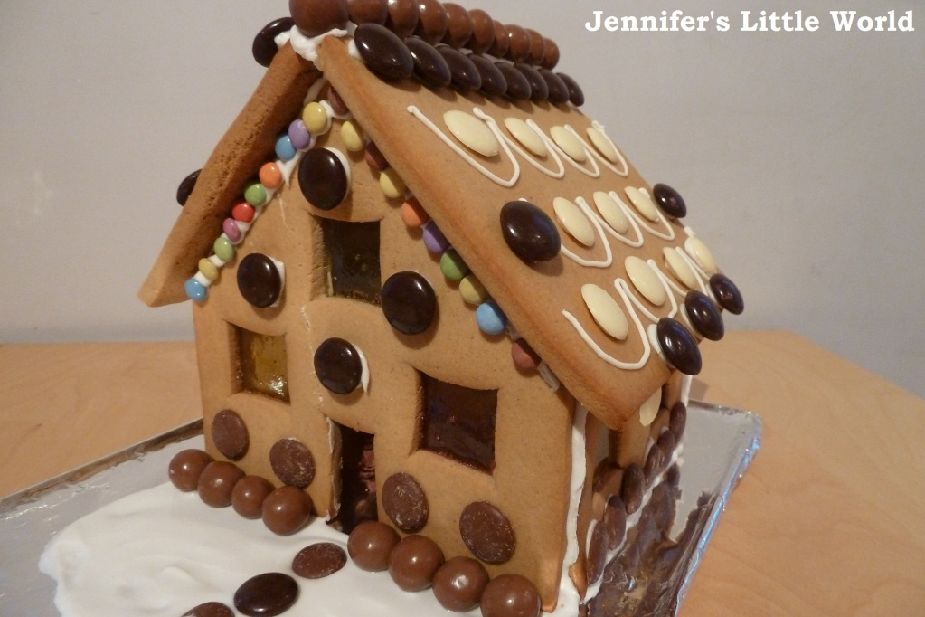My first Gingerbread House for Christmas