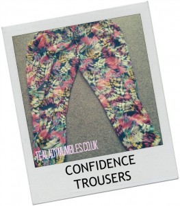 Confidence Trousers - Tealady Mumbles