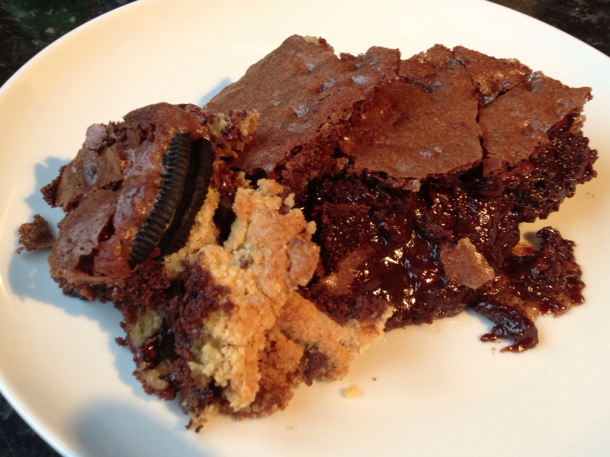The Best and The Laziest Brownies In The World!!