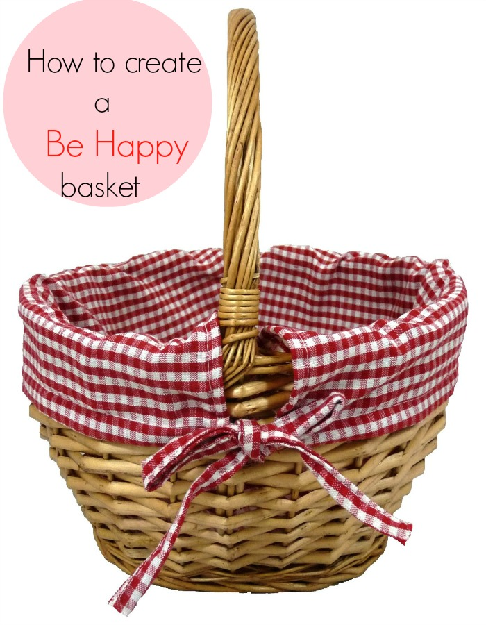 How to make a Be Happy basket