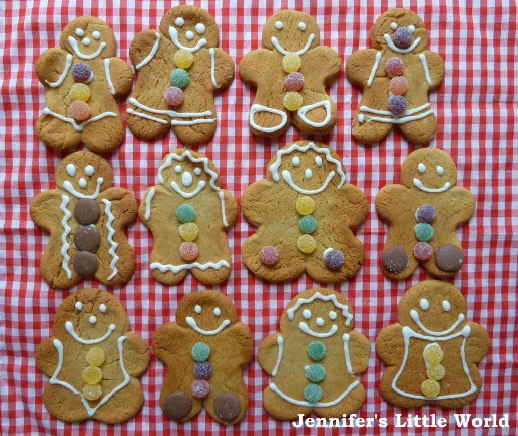 Day Zero Project - Bake gingerbread men from scratch