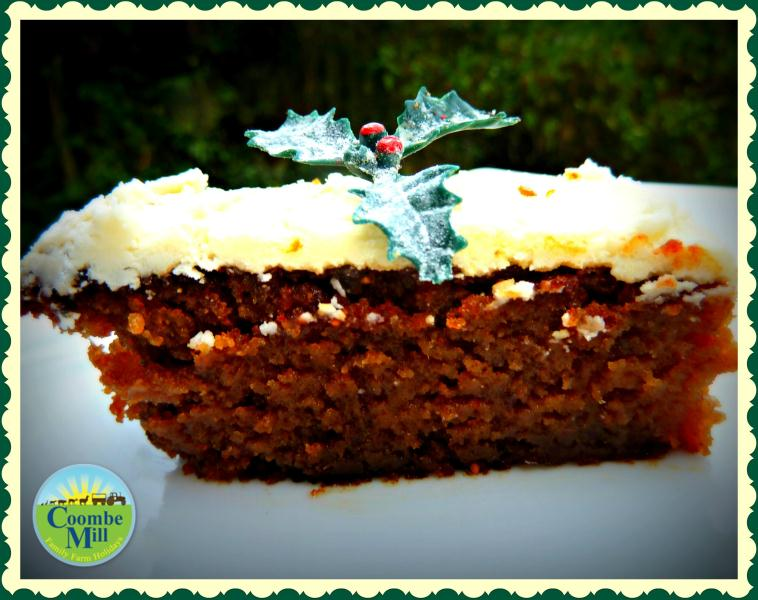 Christmas Cake that melts in the mouth!