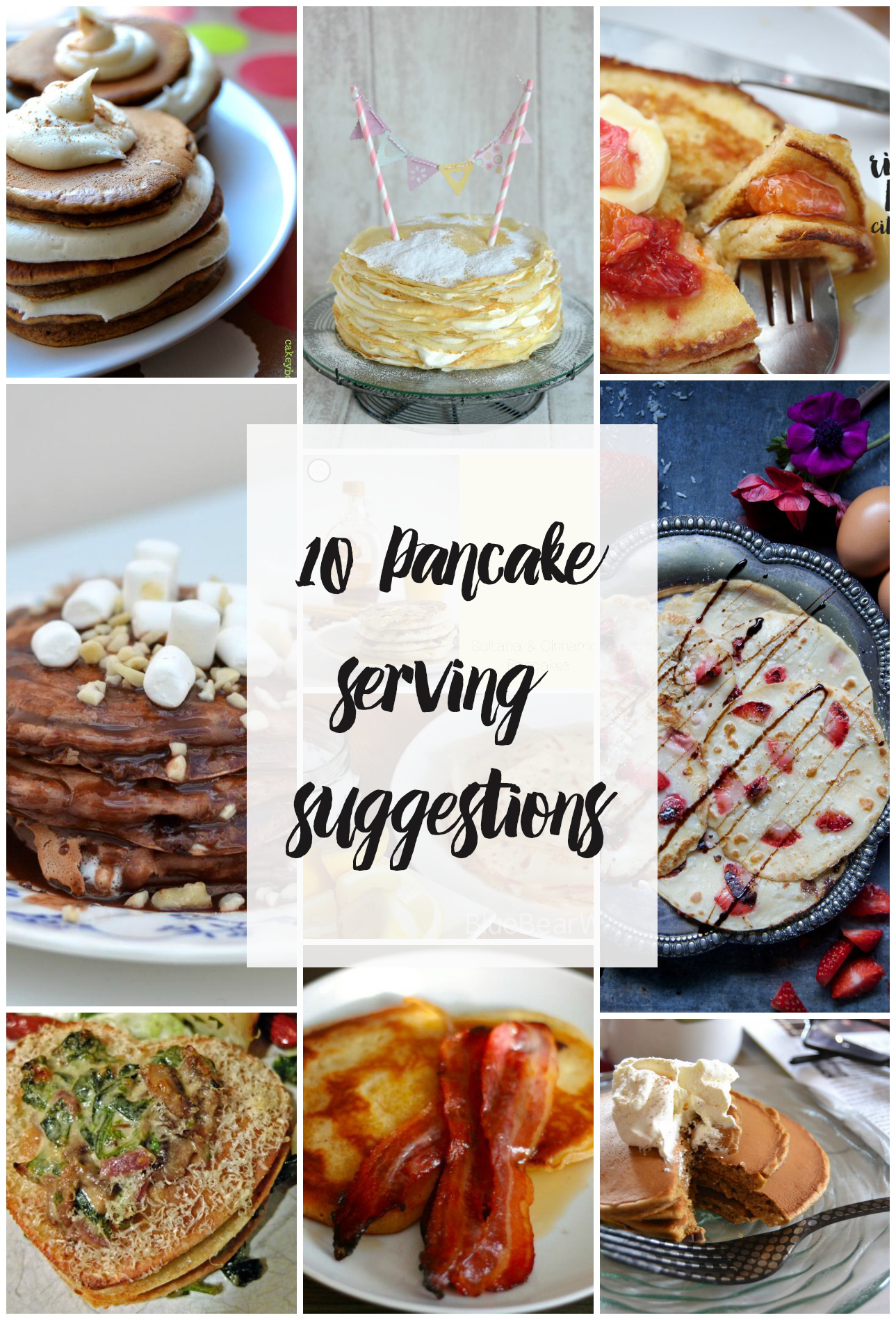 10 Pancake Serving Suggestions