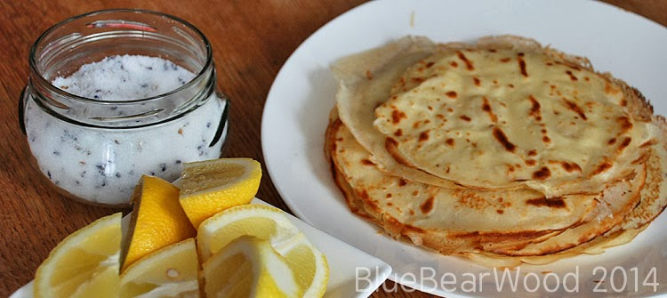 Lemon and Lavender Sugar Pancakes