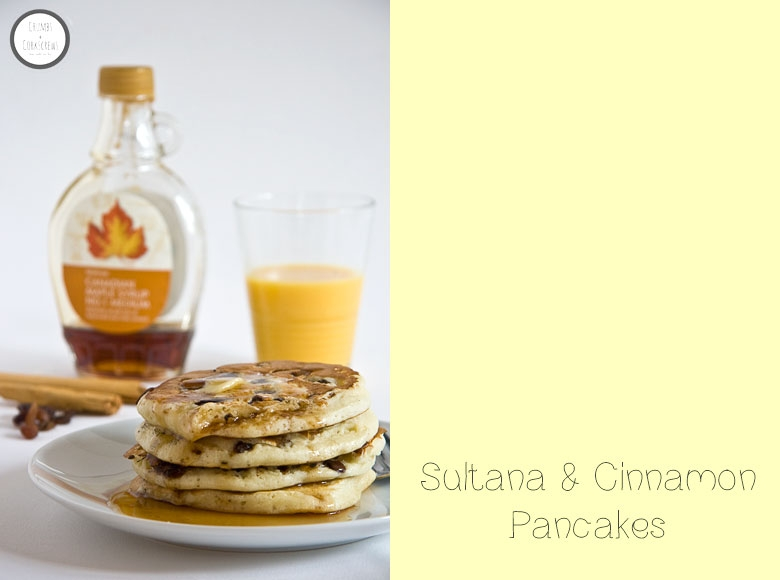 SULTANA AND CINNAMON PANCAKES