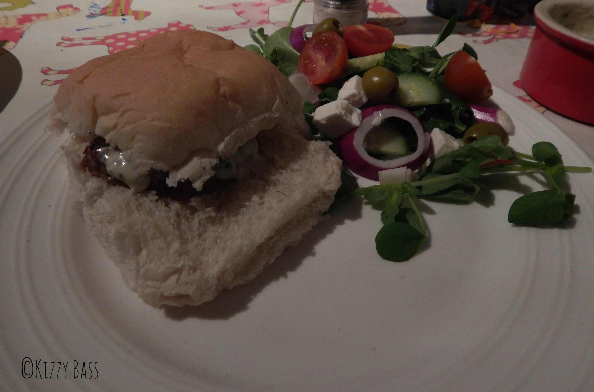 Spring Recipes: Lamb Burgers with Mint Mayo