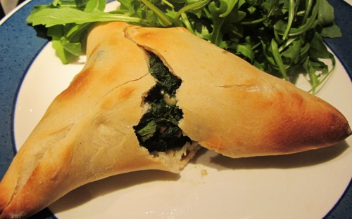 Fatayer – Spinach and Feta Parcels