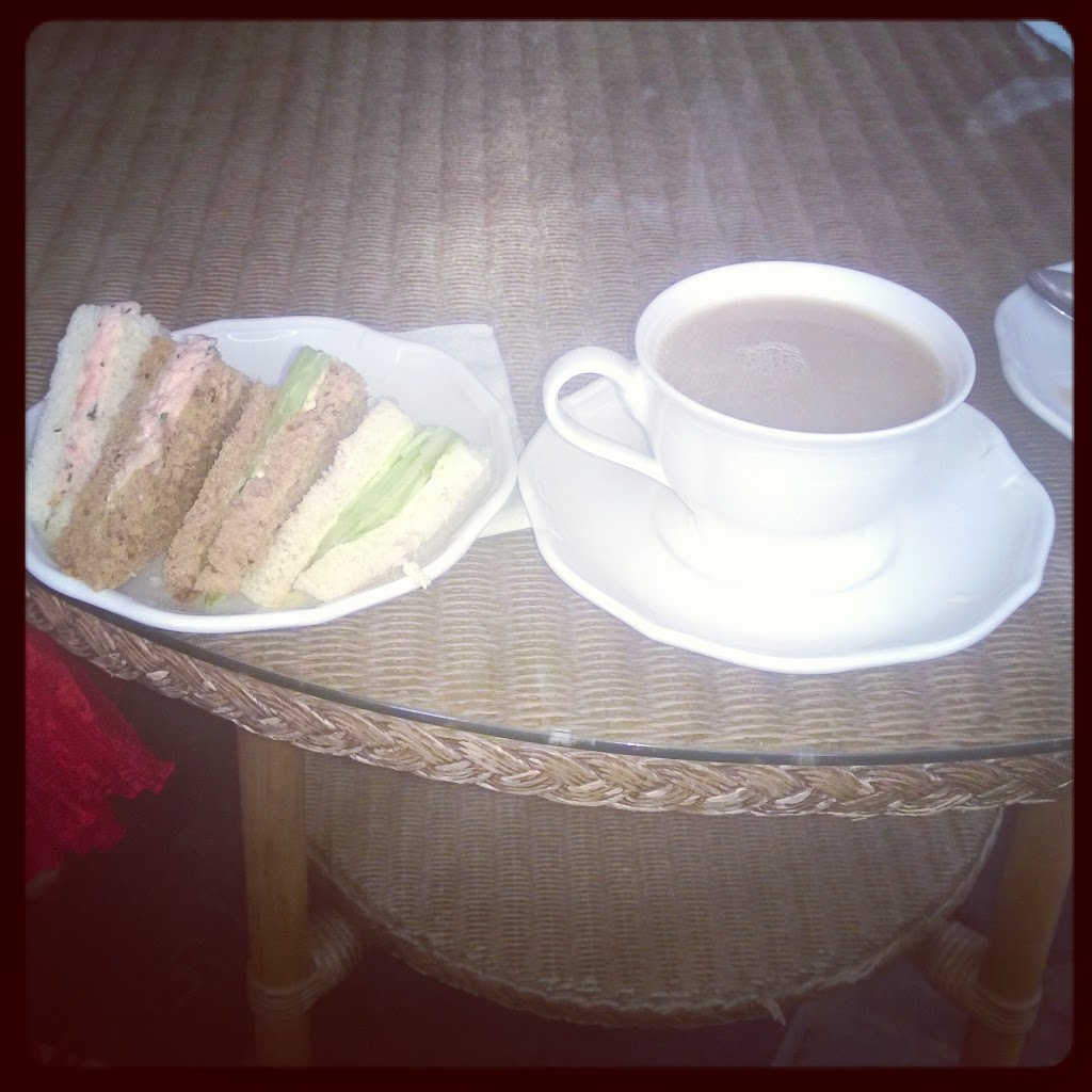 Afternoon Tea At The Gliffaes Hotel