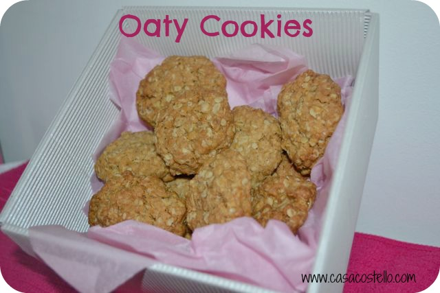 Oaty Cookies - Bake of the Week - Casa Costello