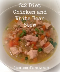 5:2 Diet: Chicken and White Bean Stew - Mum Of One