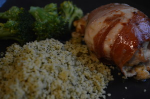 Health & Fitness Friday - Stuffed Chicken Breasts - twinstiarasandtantrums.com