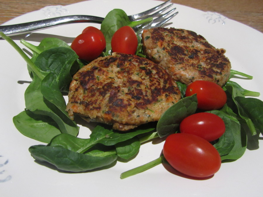 Fast food for dinner - prepare-ahead fish cakes