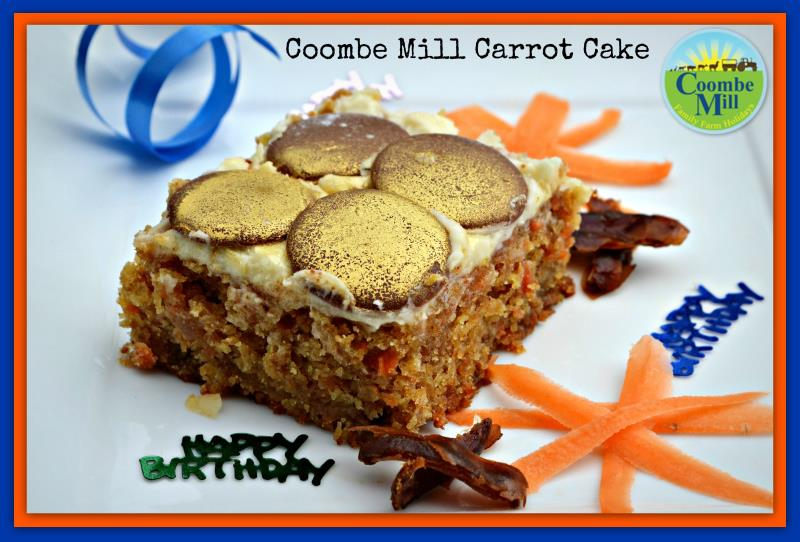 Coombe Mill Carrot Cake