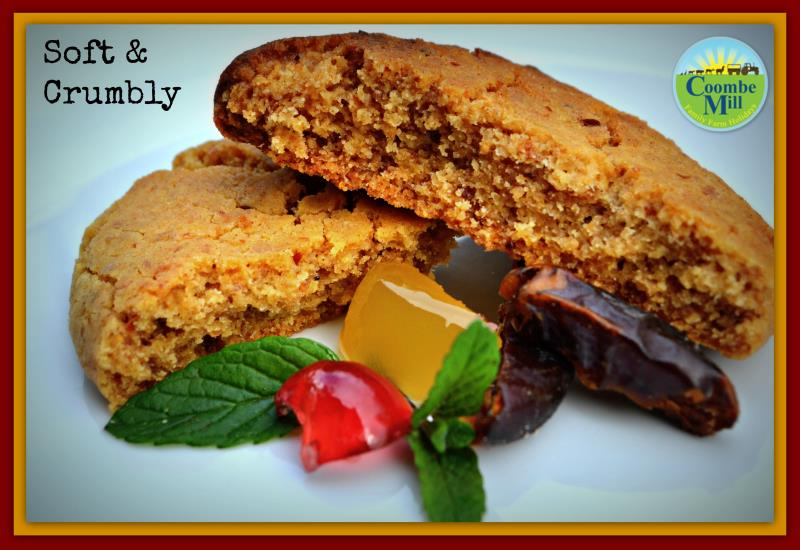 Ginger & Date Cookies