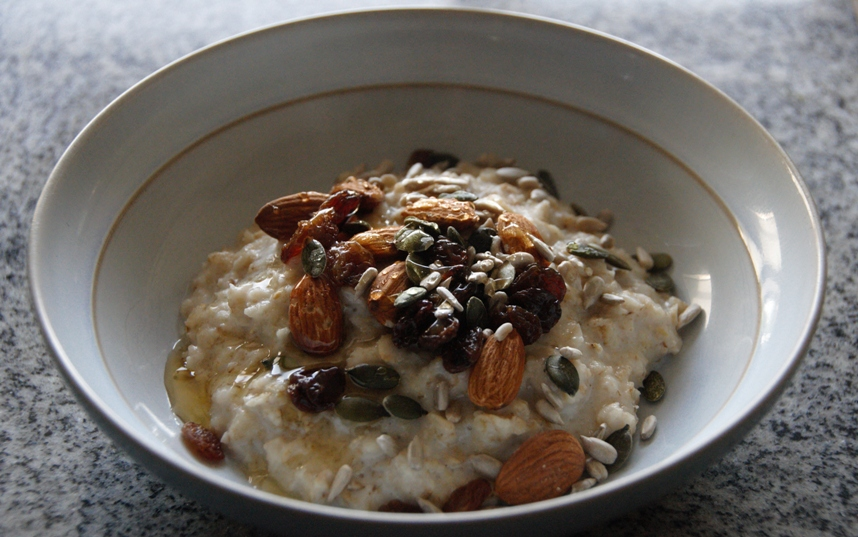 Warming Homemade Porridge » Welcome to Hellie's Corner