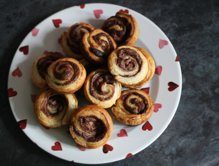 Quick and easy Nutella Swirls
