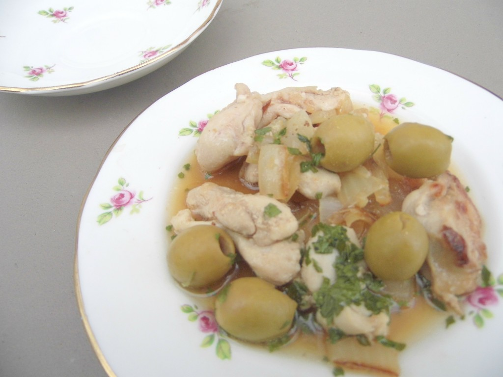 Slow Cooked Chicken Tagine