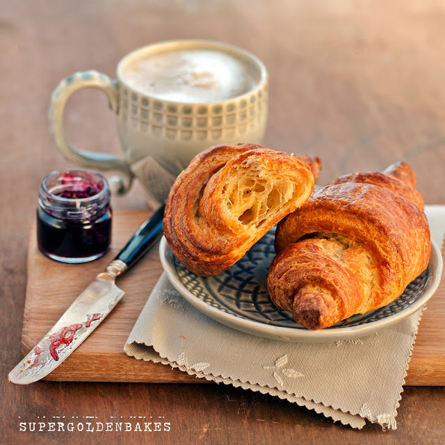 Quick and easy croissants from scratch