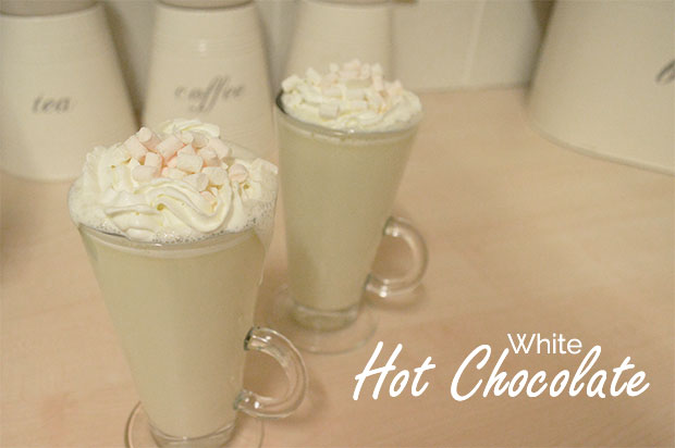 Winter Warmer Recipe: White Hot Chocolate