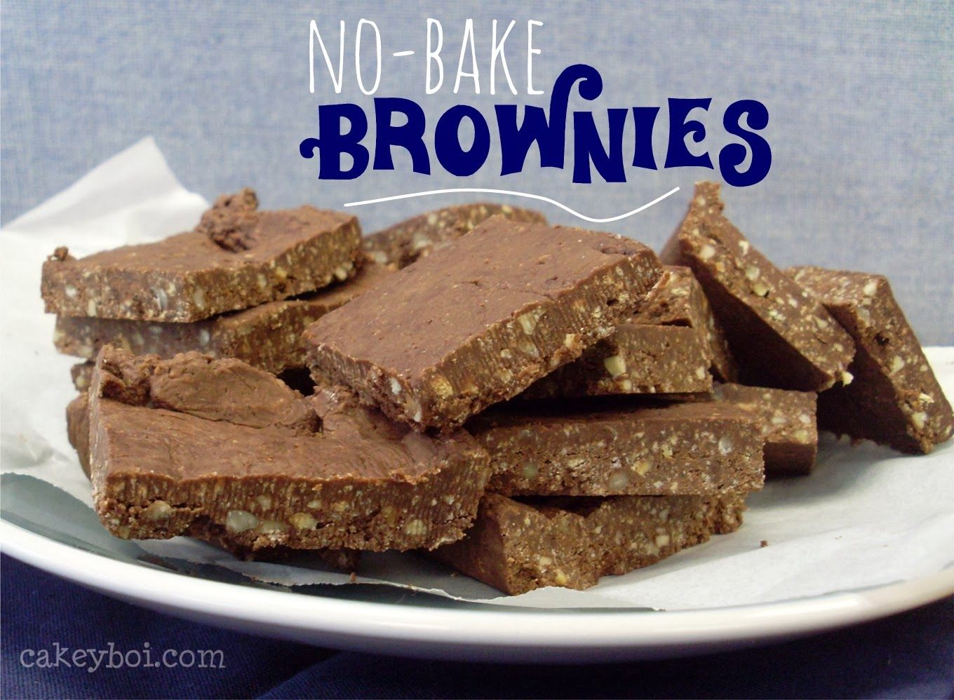 Gluten-Free No-Bake Brownies