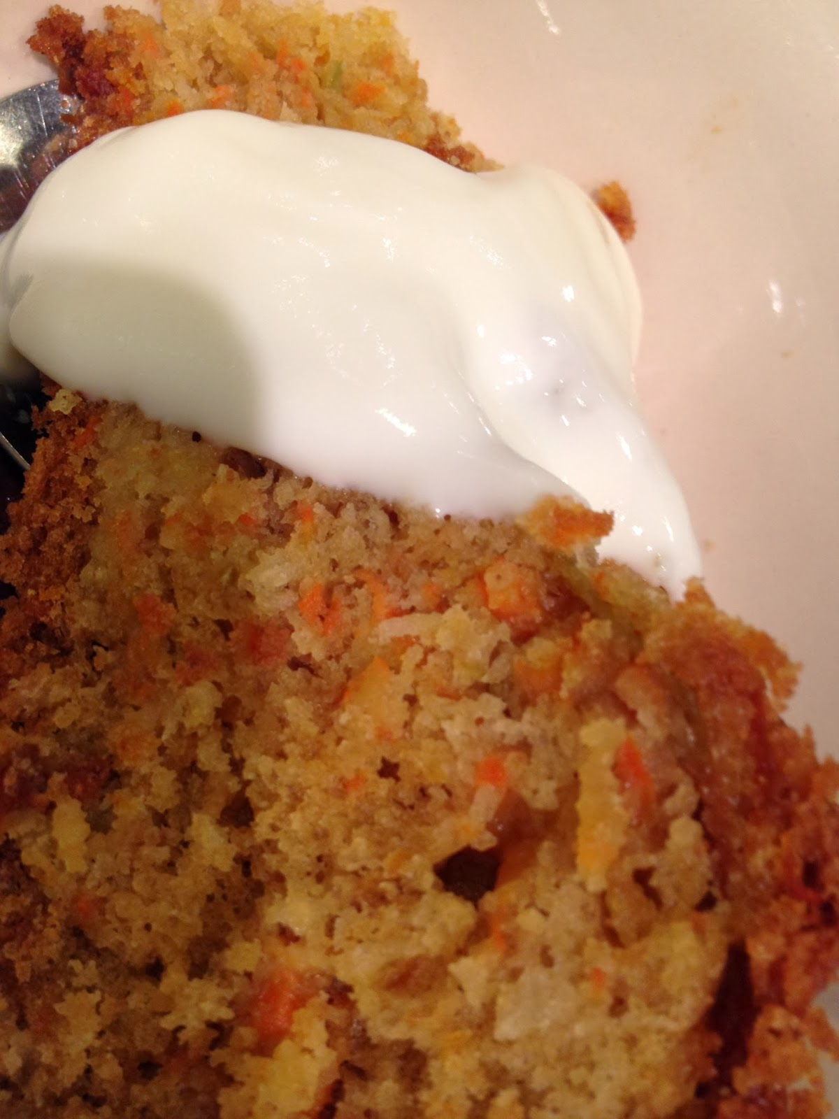 Ceredigion Calling - Carrot, apple & coconut cake with ginger syrup