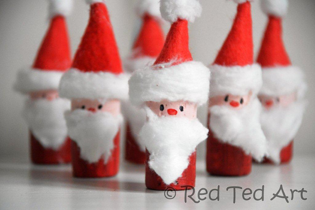 Guest Post: St Nic and Santa Crafts from Maggy Woodley of Red Ted Art
