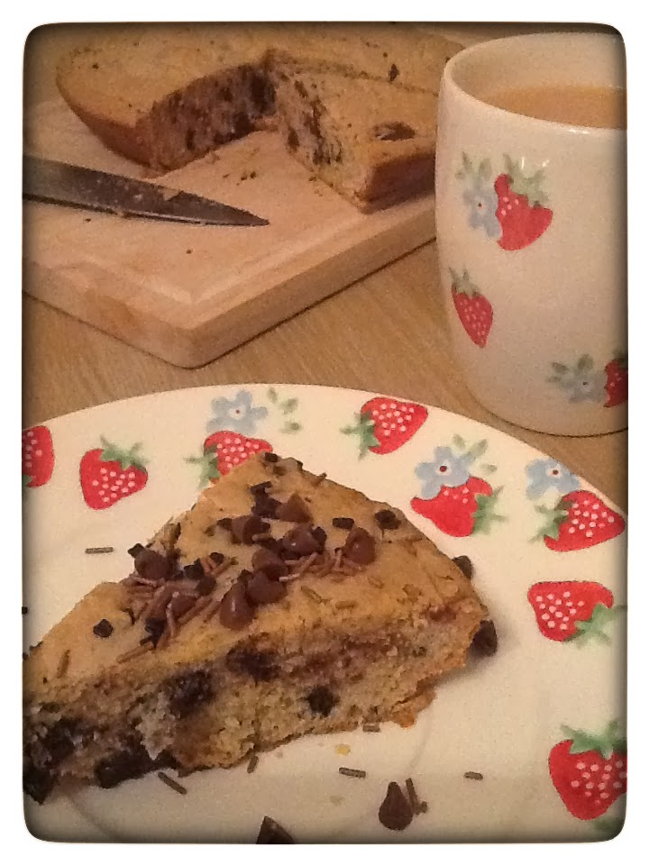 Gluten Free Frying Pan Chocolate Chip Cookie and a Review