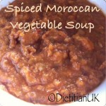 Spiced Vegetable Moroccan Soup
