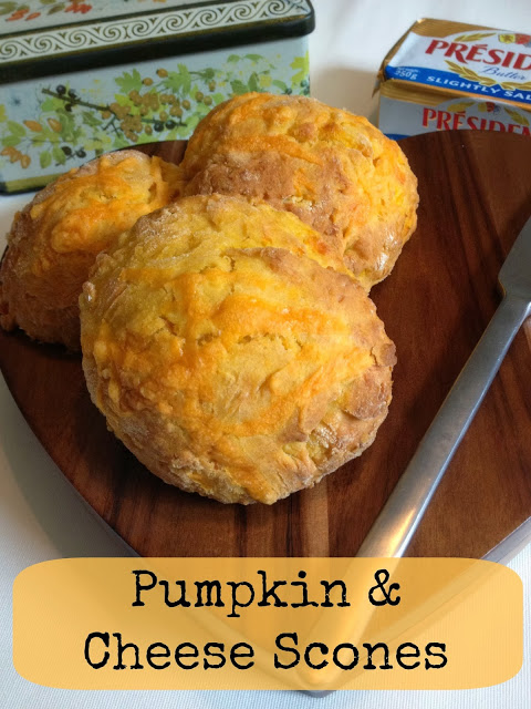 Pumpkin and Cheese Scones